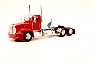 Peterbilt 386 Day Cab 6x4 Red